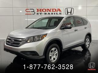 Used 2014 Honda CR-V LX + BLUETHOOT + CRUISE + WOW!! for sale in St-Basile-le-Grand, QC