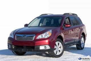 Used 2012 Subaru Outback 2.5i for sale in Brossard, QC