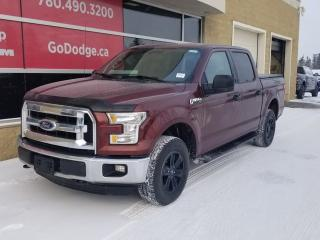 Used 2015 Ford F-150 XLT 4x4, CREW, BACKUP CAMERA, TONNEAU, LOW KMS, GREAT SHAPE! for sale in Edmonton, AB