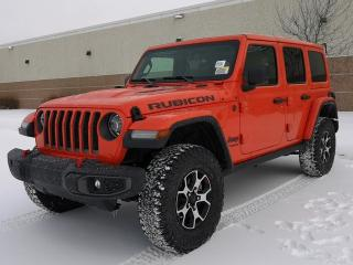 New 2020 Jeep Wrangler Unlimited Rubicon 4x4 / GPS Navigation / Back Up Camera for sale in Edmonton, AB