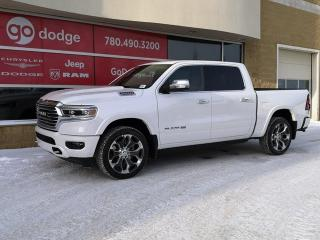 New 2020 RAM 1500 Longhorn 4x4 Crew Cab / Panoramic Sunroof / GPS Navigation for sale in Edmonton, AB