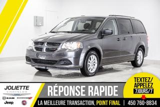 Used 2017 Dodge Grand Caravan SXT PLUS, DVD, BLUETOOTH, STOW'N GO!!!! for sale in Joliette, QC