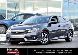 Used 2016 Honda Civic EX AUTO TOIT BAS KM AUTO TOIT BAS KM CRUISE BLUETOOTH for sale in Lachine, QC
