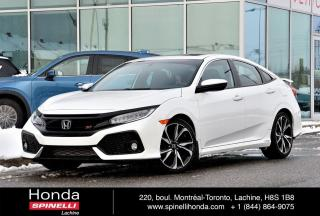 Used 2017 Honda Civic Si SEDAN NAVI TOIT NAVI TOIT MAGS BLUETOOTH for sale in Lachine, QC