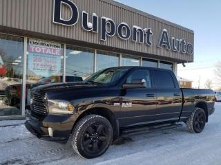 Used 2017 RAM 1500 Cabine multiplaces 4RM, 149 po Sport for sale in Alma, QC