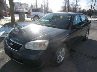 Used 2007 Chevrolet Malibu Super clean NO ACCIDENTScertified+FREE 6M warranty for sale in Ajax, ON