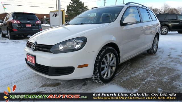 2011 Volkswagen Golf Wagon S|LOW KM|NO ACCIDENT|HEATED SEATS|CERTIFIED