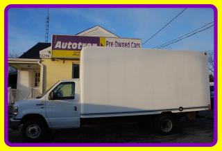 Used 2010 Ford E450 16' Cube, A/C for sale in Woodbridge, ON