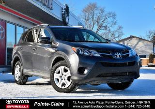Used 2015 Toyota RAV4 LE UPGRADE AWD CAMÉRA DE RECUL, SIÈGES CHAUFFANT for sale in Pointe-Claire, QC