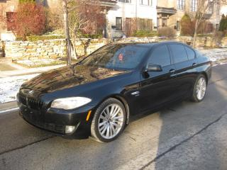 Used 2011 BMW 5 Series 550i xDrive, M-SPORT, CERTIFIED, F-LOADED for sale in Toronto, ON
