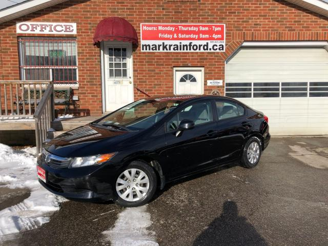 2012 Honda Civic LX Auto 4 Door One-Owner