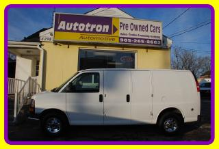 Used 2013 GMC Savana 3500 1 Ton Cargo Van, Loaded, Dual Fuel Propane for sale in Woodbridge, ON