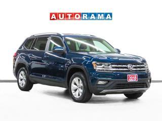 Used 2018 Volkswagen Atlas V6 4Motion Comfortline Leather Backup Cam 7Pass for sale in Toronto, ON