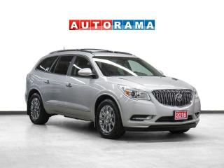 Used 2016 Buick Enclave AWD Leather Nav PanoRoof Backup Cam 8Pass for sale in Toronto, ON