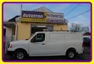 Used 2014 Nissan NV 2500 3/4 Ton Cargo Van, Roof Rack, Loaded, Shelves for sale in Woodbridge, ON