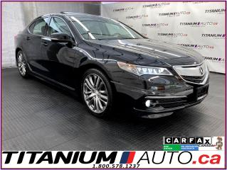 Used 2016 Acura TLX A-Spec+V6 Elite+AWD+GPS+Camera+Cooled Seats+BSM+XM for sale in London, ON