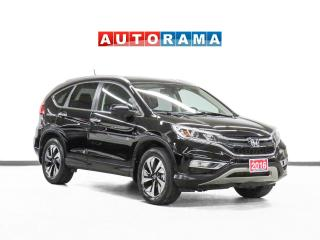 Used 2016 Honda CR-V Touring AWD Leather Navigation Sunroof Backup Cam for sale in Toronto, ON
