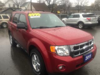 Used 2011 Ford Escape XLT, 4 Wheel Drive for sale in St Catharines, ON