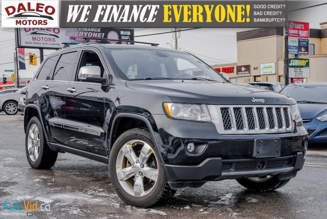 2012 Jeep Grand Cherokee Overland / NAV / BACKUP CAM / HEATED SEATS / PANO
