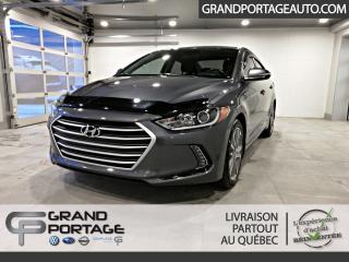 Used 2017 Hyundai Elantra GLS Berline automatique. **Toit ouvrant* for sale in Rivière-Du-Loup, QC