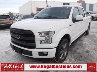 Used 2017 Ford F-150 LARIAT SUPERCREW LWB 4WD 3.5L for sale in Calgary, AB