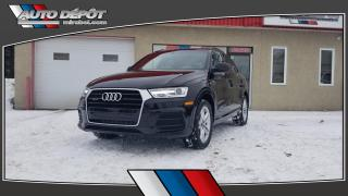 Used 2016 Audi Q3 2.0T Komfort, QUATTRO, TOIT, CUIR for sale in Mirabel, QC