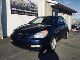 Used 2007 Hyundai Accent SR for sale in St-Lin-Laurentides, QC