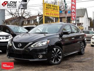 Used 2016 Nissan Sentra SR*Leather*Sunroof*Navi*Camera*BlindSpot&More! for sale in Toronto, ON