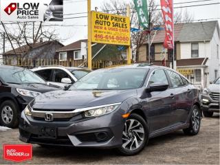 Used 2018 Honda Civic Sedan EX*Sunroof*AllPowerOpti*LaneDeparture*Camera*Warra for sale in Toronto, ON