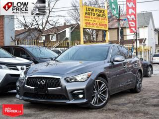 Used 2016 Infiniti Q50 3.0*Sport*AllPower*Navi*Camera*PaddleShifters&More for sale in Toronto, ON