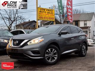 Used 2016 Nissan Murano S*Navi*AllPowerOpti*Camera*HtdSeats&Bluetooth* for sale in Toronto, ON