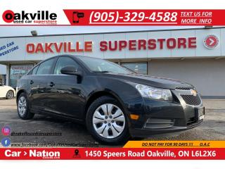 Used 2011 Chevrolet Cruze LT Turbo+ w-1SB | BLUETOOTH | SUNROOF | ONSTAR for sale in Oakville, ON