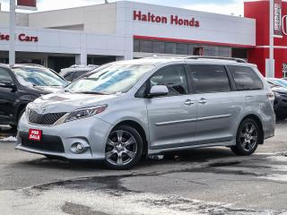 Used 2016 Toyota Sienna SE|NO ACCIDENTS for sale in Burlington, ON