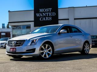 Used 2015 Cadillac ATS 2.0L Turbo Luxury AWD|NAVIGATION|SUNROOF|CAMERA for sale in Kitchener, ON
