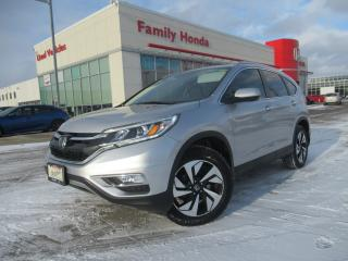 Used 2016 Honda CR-V AWD 5dr Touring | NAVIGATION | PUSH START | for sale in Brampton, ON