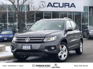 Used 2012 Volkswagen Tiguan Comfortline 6sp at Tip for sale in Markham, ON