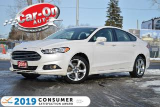 Used 2016 Ford Fusion SE AWD NAV REAR CAM HTD SEATS 19,000 KM LOADED for sale in Ottawa, ON