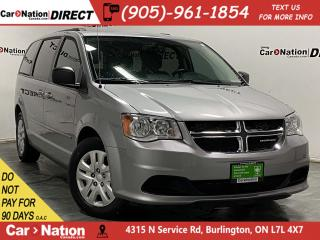 Used 2015 Dodge Grand Caravan SXT| LOCAL TRADE| DUAL CLIMATE CONTROL| for sale in Burlington, ON
