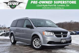 Used 2015 Dodge Grand Caravan SE/SXT - One Owner, Rustproofed and Undercoated, W for sale in London, ON