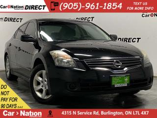 Used 2009 Nissan Altima SL| AS-TRADED| LEATHER| SUNROOF| for sale in Burlington, ON