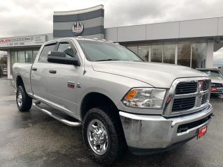 Used 2012 RAM 3500 SLT 4WD CREW SB 6.7L CUMMINS DIESEL ONLY 112KM for sale in Langley, BC