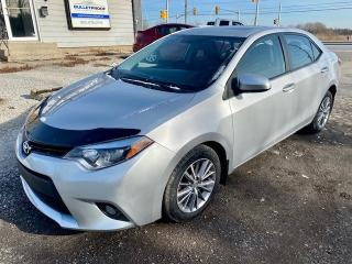 Used 2014 Toyota Corolla 4dr LE, leather, sunroof, heated seats for sale in Halton Hills, ON