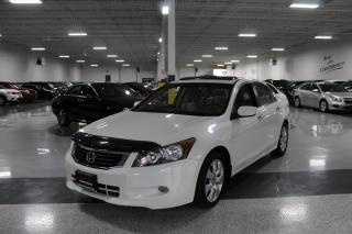 Used 2010 Honda Accord EX-L I NAVIGATION I LEATHER I SUNROOF I HEATED SEATS for sale in Mississauga, ON