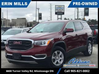 Used 2017 GMC Acadia SLE-1  7 PASS|REAR CAM|LOW KM for sale in Mississauga, ON
