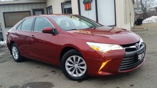 Used 2015 Toyota Camry LE -BACK-UP CAM! ACCIDENT FREE! for sale in Kitchener, ON