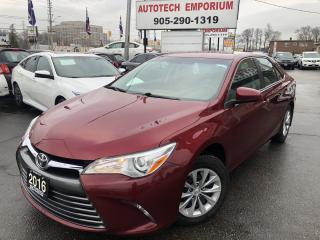 Used 2016 Toyota Camry LE Backup Camera/Heated Seats/Bluetooth for sale in Mississauga, ON