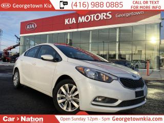 Used 2016 Kia Forte LX+ | SUNROOF | HEATED SEATS | ALLOYS | for sale in Georgetown, ON