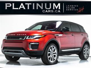 Used 2016 Land Rover Evoque HSE, NAV, PANO, CAM, PUSH BUTTON, POWER LIFTGATE for sale in Toronto, ON