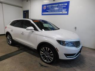 Used 2018 Lincoln MKX Reserve  LEATHER NAVI SUNROOF for sale in Listowel, ON