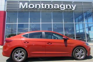Used 2017 Hyundai Elantra GL, DÉTECTEUR D'ANGLE MORT,VOLAN for sale in Montmagny, QC